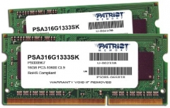 DDR3 SODIMM Patriot Signature Apple  2x8GB  1333MHz CL9