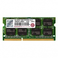 DDR3 SODIMM Transcend 4GB 1333MHz CL9 1.35V