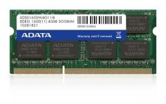 DDR3L SODIMM Adata 4GB 1600MHz CL11 1.35V Retail