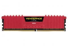DDR4 Corsair Vengeance LPX Red 8GB 2400MHz PC4-19200 CL14 1.2V