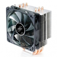 Deepcool ''Gammaxx 400'' universal cooler, 4 heatpipes, Intel Socket LGA 2011/1155/ 775, 130 W TDP and AMD Socket FM1 Aušintuvai