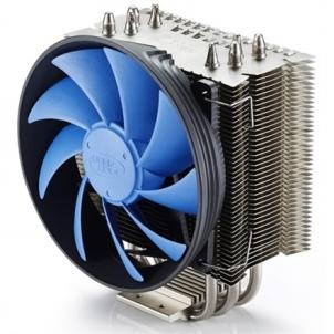 Deepcool ''Gammaxx S40'' universal cooler, 4 heatpipes, Intel Socket LGA2011/1155/ 775, 130 W TDP and AMD Socket FM2 Coolers