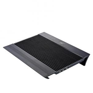 Deepcool Notebook cooler N8 black up to 17'' nb, 1x140mm black fan