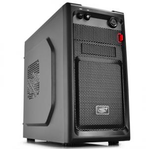 Deepcool Smarter, Mini tower, all black w/o PSU, micro-ATX Kompiuterių korpusai