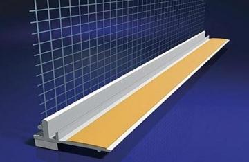 Deformacinis profilis (su tinkleliu) 6 mm 2,4m Profiles (plastering, plastering, plaster board)