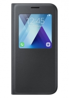 Dėklas Samsung S-View standing cover for Samsung Galaxy A5 A520 (Black)