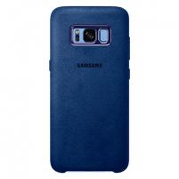 Dėklas telefonui Samsung Alcantara Cover, for Galaxy S8 G950, Blue