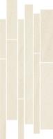 Dekoratyvinė 20*52 ARKESIA BIANCO MIX PASKI, akmens masės juostelė Akmens masės apdailos plytelės