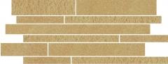 Dekoratyvinė 20*52 ARKESIA BROWN MIX PASKI, akmens masės juostelė Akmens masės apdailos plytelės