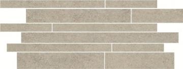 Dekoratyvinė 20*52 RINO GRYS MIX PASKI, akmens masės juostelė