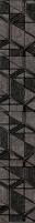 Dekoratyvinė 7.2*45 LENSITILE GRAFIT akmens masės juostelė