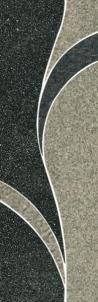 Dekoratyvinė 9.8*29.8 ARKESIA GRYS A, dekoruota akmens masės juostelė