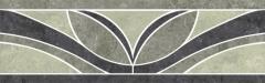 Dekoratyvinė 9.8*29.8 MISTRAL GRYS A, akmens masės juostelė