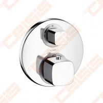 Dekoratyvinė dalis potinkiniam termostatiniam dušo maišytuvui HANSGROHE Metris Ecostat E, 26 l/min