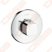 Dekoratyvinė dalis potinkiniam termostatiniam dušo maišytuvui HANSGROHE Metris Ecostat E, 59 l/min