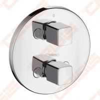 Dekoratyvinė dalis potinkiniam termostatiniam dušo maišytuvui HANSGROHE MetrisiControl E su perjungėju
