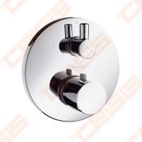 Dekoratyvinė dalis termostatiniam dušo maišytuvui HANSGROHE Ecostat S su išjungimo/nukreipimo mygtuku ir diverteriu