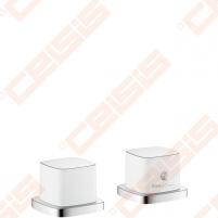 Dekoratyvinė dalis termostatinio vonios maišytuvo HANSGROHE PuraVida (dvi dalys)