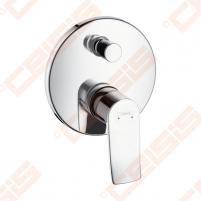 Dekoratyvinė dalis vonios/dušo maišytuvo HANSGROHE Metris (apvali)