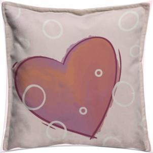 Dekoratyvinė pagalvė Širdutė 40x40 cm