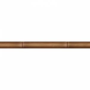 Dekorinė strip Bamboo brown 40x3 cm