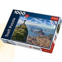 Dėlionė 10405 TREFL RIO DE JANEIRO 1000 EL . Atjautības kids