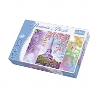 Dėlionė 10409 TREFL Spring in Paris - 1000 pieces jigsaw puzzle Atjautības kids