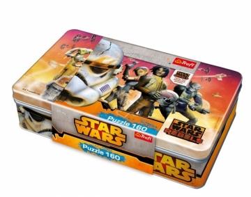 Dėlionė 53000 TREFL Puzzle Box 160 EL Star Wars Atjautības kids