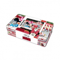 Dėlionė 53004 TREFL Puzle metāla kastē Minnija, 160 gb. Jigsaw for kids
