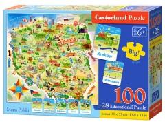 Dėlionė Castorland 100 dalių Dėlionės vaikams