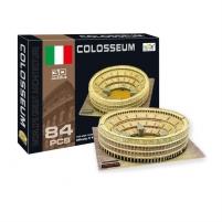 Dėlionė Delione 3D Rome Colisseum 80pcs 525085362 Dėlionės vaikams