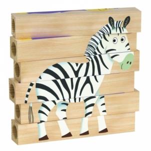 Dėlionė Jungla 4 wooden puzzle