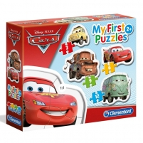 Dėlionė My First Puzzles - Disney Cars (3+6+9+12)