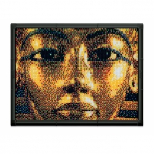 Dėlionė Pixel Art Premium-Tutankhamon