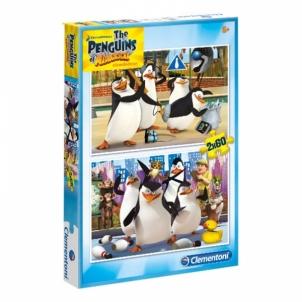 Dėlionė PZL 2x20 Penguins Of Madagascar