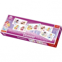 Dėlionė TREFL 00834 Domino Princeses Galda spēles bērniem