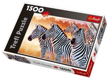 Dėlionė Trefl 26129 zebrai