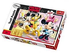 Dėlionė Trefl Puzzle Disney Mickey Mouse Послеобеденные веселья 160 элементов 15237 Atjautības kids