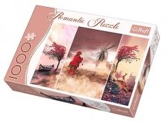 Dėlionė Trefl Puzzle Fairytale land 1000 элементов 10408 Jigsaw for kids