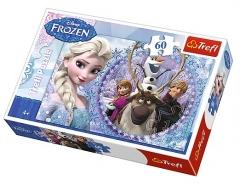 Dėlionė Trefl Puzzle Frozen 60 det. 17275 Dėlionės vaikams