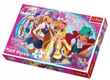 Dėlionė Trefl Puzzle WinX 160 det. 15296 Dėlionės vaikams