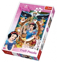 Dėlionė TREFL  Белоснежка коллаж Disney Princessб 160 эл. 15299 Jigsaw for kids
