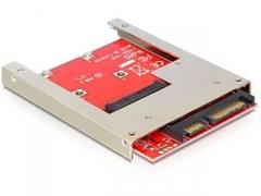 Delock Adapter/Converter SATA 22 Pin > mSATA full size