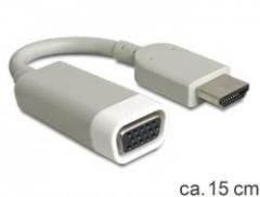 Delock adapter HDMI-A male > VGA female (15cm)
