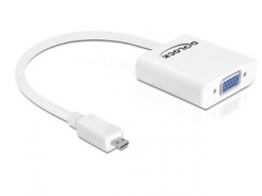 Delock adapteris HDMI MICRO(M)->VGA(F)