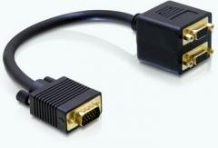 Delock adapteris VGA -> 2x VGA