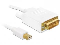 Delock Cable Displayport mini male > DVI 24pin male 2 m