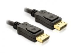 Delock kabelis Displayport M/M 2m gold