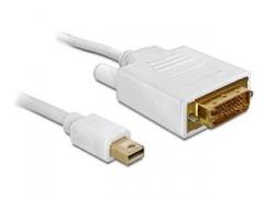 Delock kabelis Displayport Mini (M)-> DVI-I(M)24+1PIN 1m gold