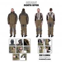 Demisezonininis kostiumas AKARA NORTH RIVER XXL Fisherman's suits, suits